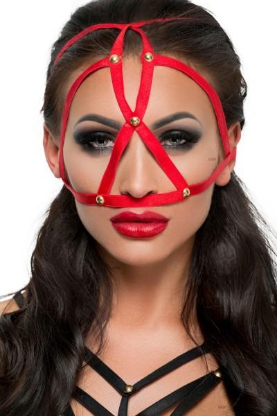 rote Kopfmaske MK 08 von MeSeduce