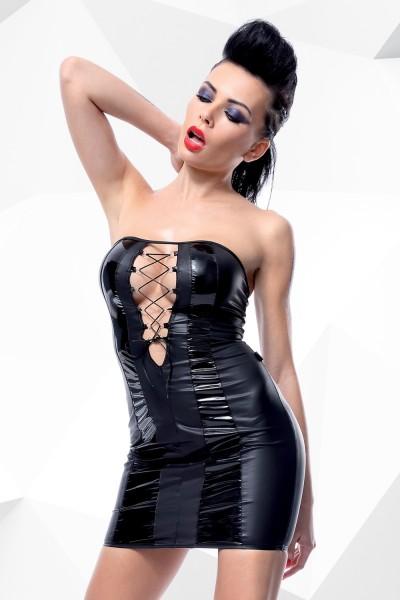 schwarzes Minikleid Irma von Demoniq Hard Candy Collection