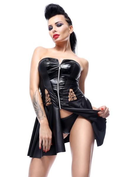 schwarzes Minikleid Rita von Demoniq Hard Candy Collection
