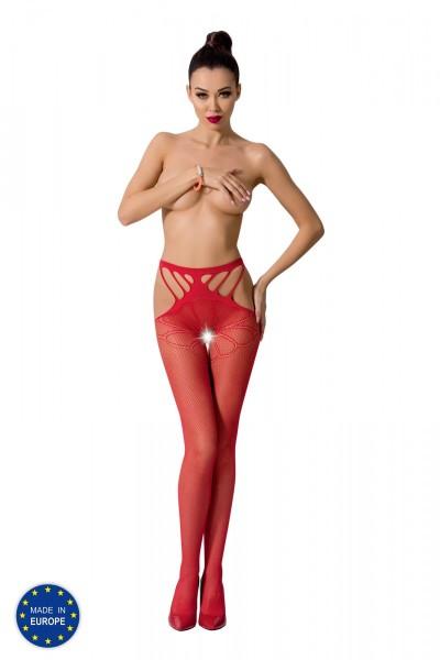 ouvert Strumpfhose S001 rot von Passion Erotic Line