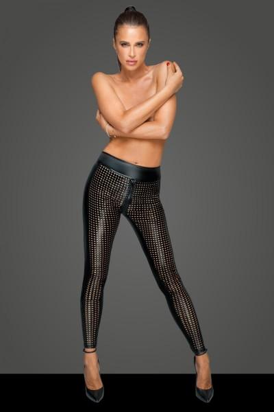 Lasercut Leggings F233 von Noir Handmade MissBeHaved Collection