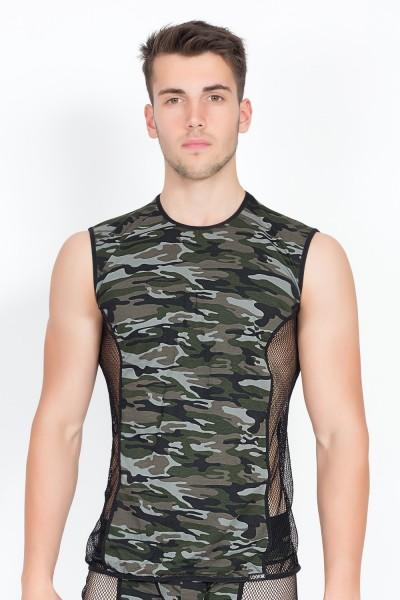 camouflage V-Shirt Military 58-77 von Look Me
