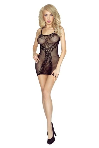 schwarzes Netz-Kleid PR4954 S-L von Provocative