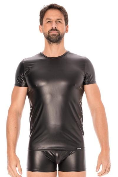 schwarze Wetlook T-Shirt 2008-81 von Look Me
