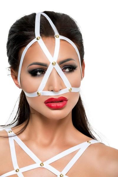 weiße Kopfmaske MK 10 von MeSeduce