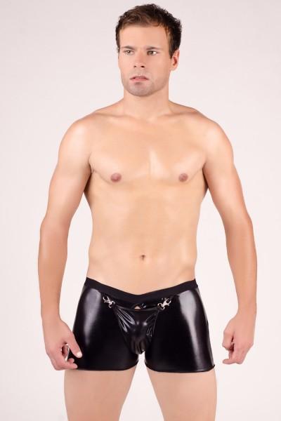 schwarzer Herren-Boxer-Short MC/9007 von Andalea