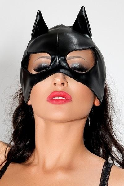 schwarze Katzenmaske MK 02 von MeSeduce