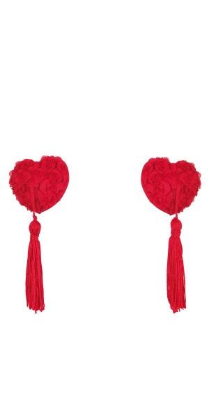 Rote Brustwarzen-Abdeckung Vallya von Anais Apparel Luxury Lingerie