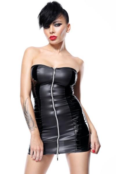 schwarzes Minikleid Greta von Demoniq Hard Candy Collection
