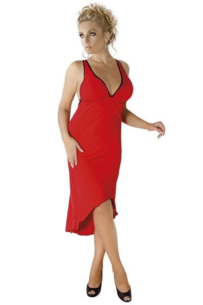 rotes langes Kleid M/1073 von Andalea
