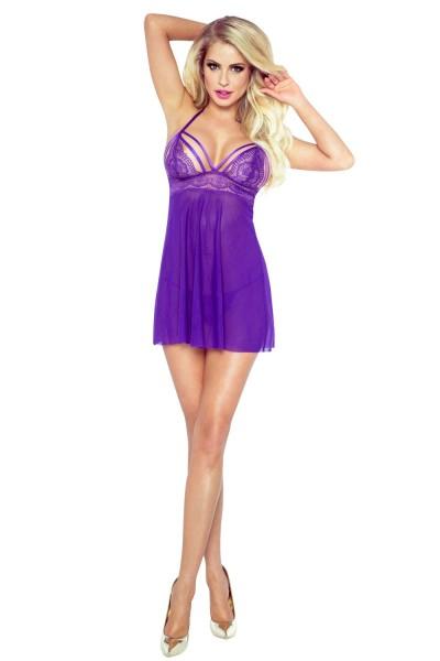 Purple Seduction Babydoll von Poupinette