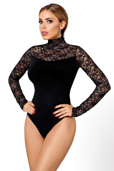 schwarzer Body Roma von Hamana