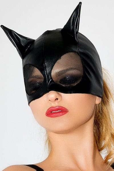 schwarze Katzenmaske MK 01 von MeSeduce