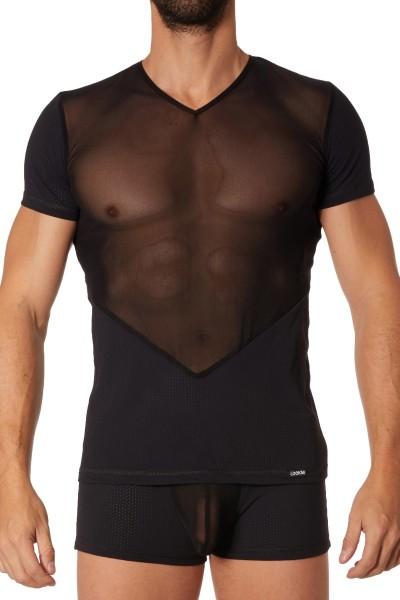 schwarzes Herren T-Shirt 905-81 von Look Me
