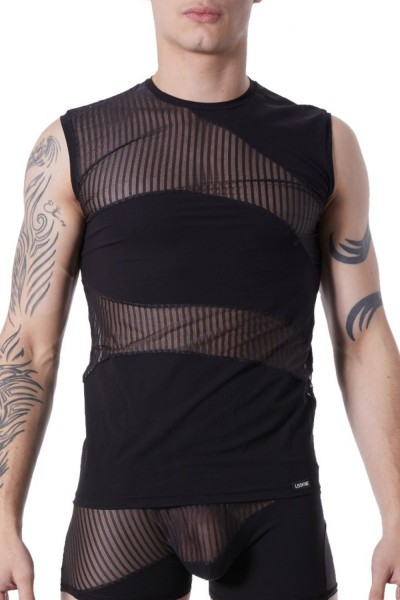 schwarzes T-Shirt Shade 803-77 von Look Me