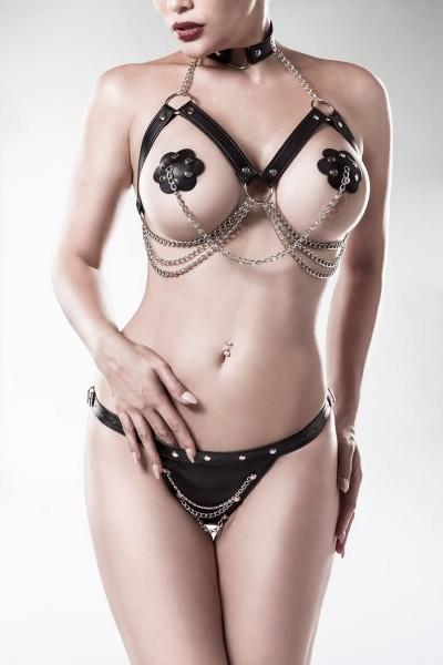 3-teiliges Erotikset 15139 von Grey Velvet